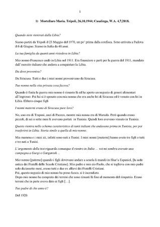 Trascrizione dellintervista di Domenico Infantolino a Maria Mortellaro, 4, 7, 2018, 17,40