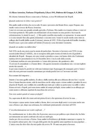 Trascrizione dellintervista di Domenico Infantolino ad Antonino Rizzo, Paderno, 09, 09, 2018